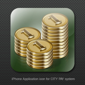 iPhone application for CITY by st-valentin