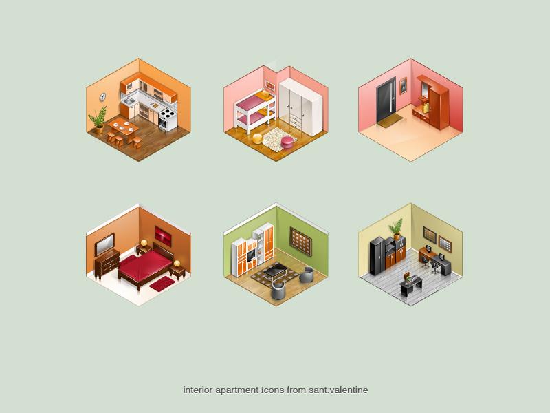 interior apartment by st-valentin