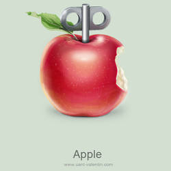 Apple by st-valentin