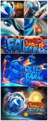 Deep space farm by st-valentin