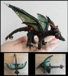 Shiny green dragon
