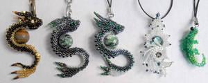 More dragon charms