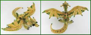 Dragon brooch v2