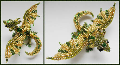 Dragon brooch v3 by Rrkra