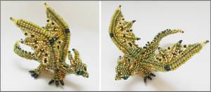 Dragon brooch v4
