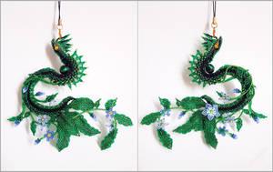 Flower Dragon 2 by Rrkra