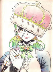 Paper crown / Corona de papel