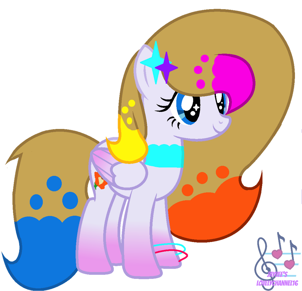 Art Trade With FlutterShy And Rarity Show by SpeedPaintJayvee12