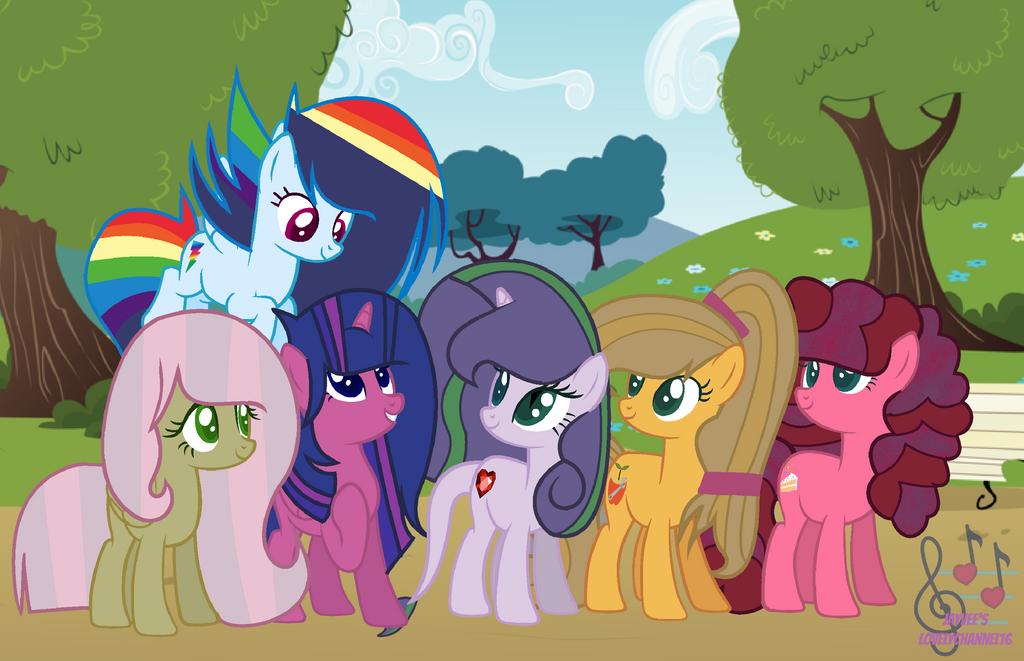 Friendship Is Wonder (Next Generation) by SpeedPaintJayvee12