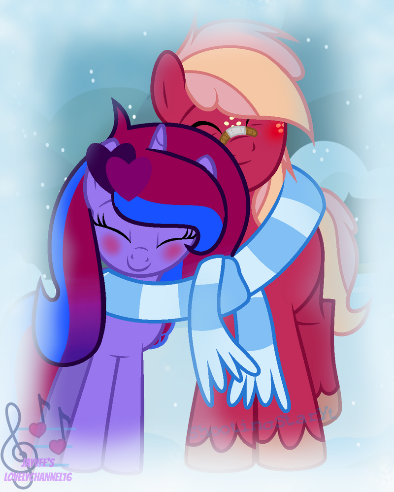 You are the Piece of Me (Collab) (WBG) by SpeedPaintJayvee12