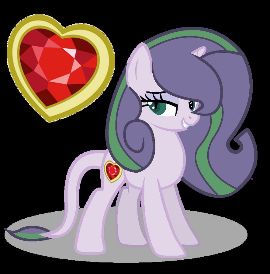 MLP Diamond Heart by SpeedPaintJayvee12