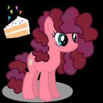 MLP Party Cake by SpeedPaintJayvee12
