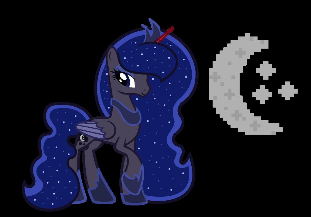 MLP Princess MoonShine by SpeedPaintJayvee12