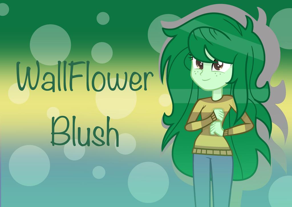 MLP WallFlower Blush by SpeedPaintJayvee12
