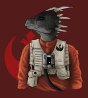 Dako Slatesky - Resistance Pilot by Onishark