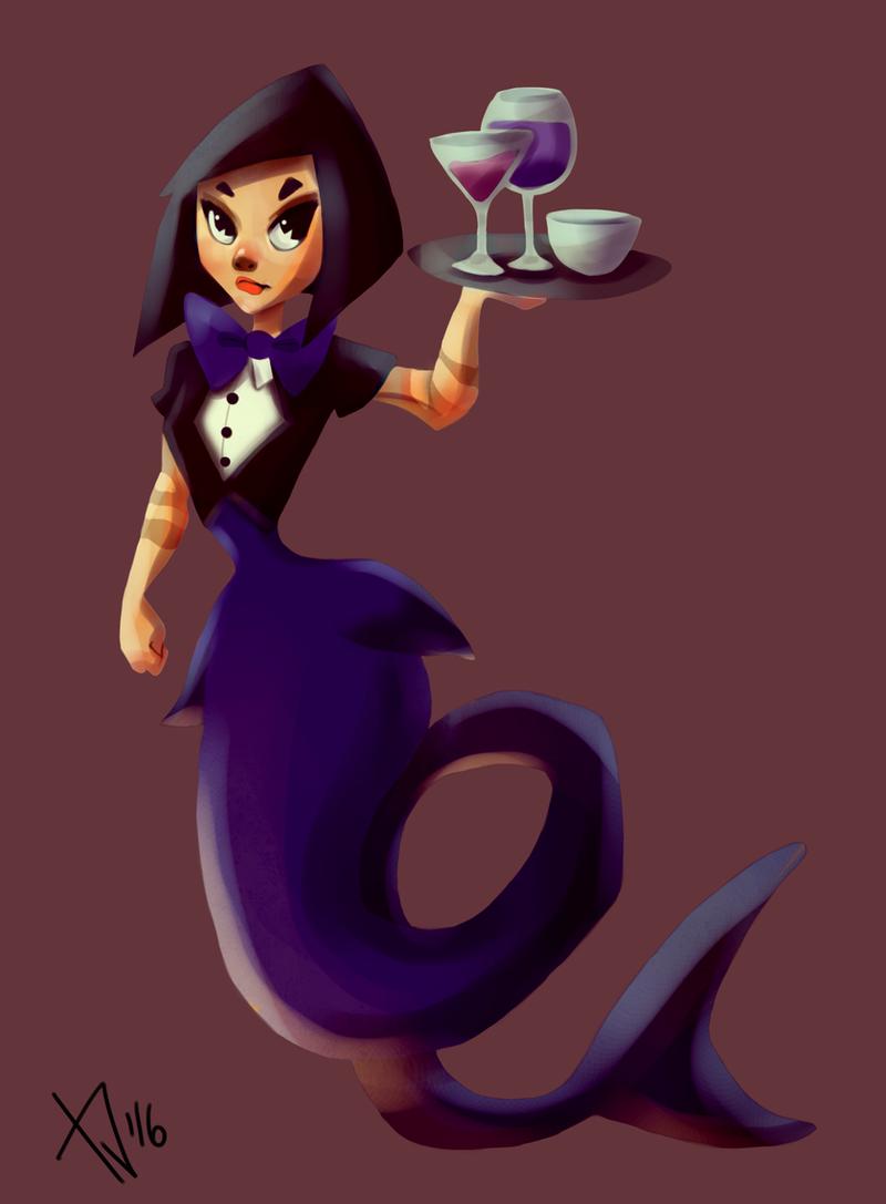 Merbarmaid 0206 by Tinnu