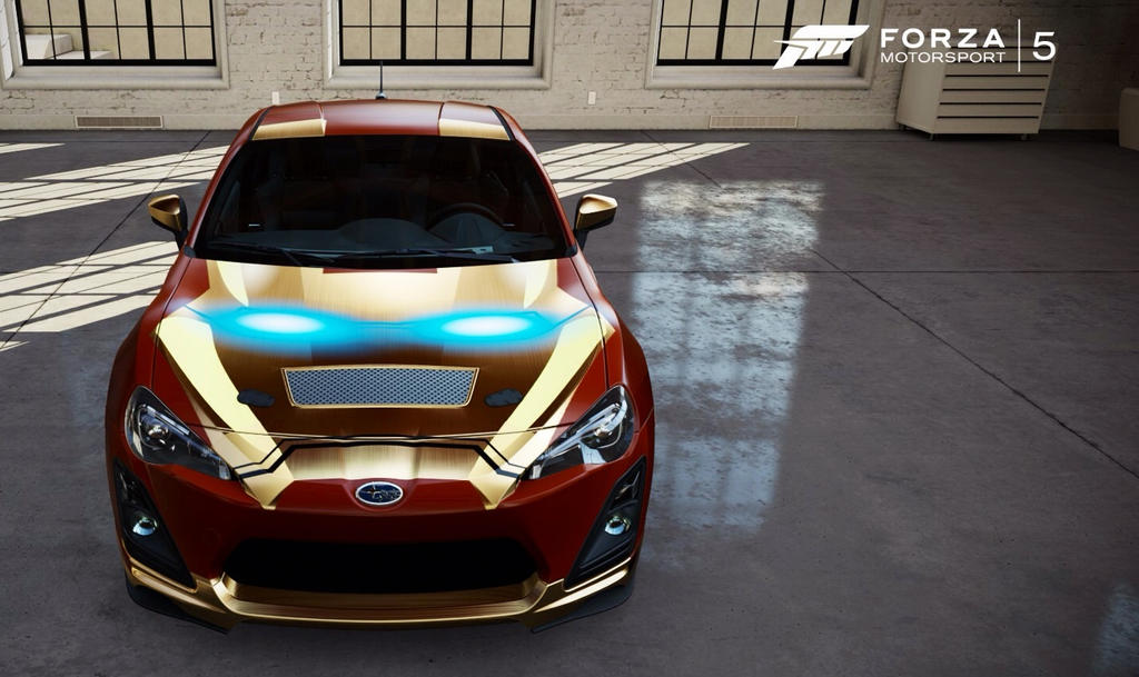 Iron Man Car Designed In Forza 5 By Samaelt666 On Deviantart