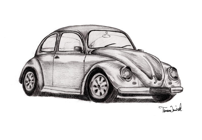 vw kaefer volkswagen beetle by tamchen on deviantart. Black Bedroom Furniture Sets. Home Design Ideas