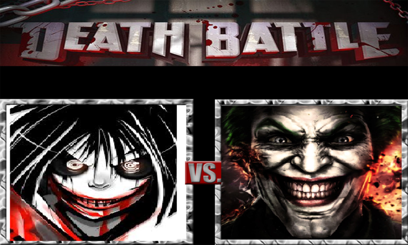 Halloween Prelude: The Joker vs Jeff the Killer by redhavic on ...