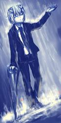 Lighting up the rain by coockiesandshadow
