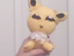 Jolteon Plushie by LOVEkidkun