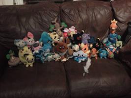 My pokemon plushies