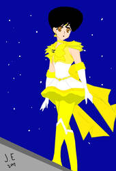 Super Sailor Star Painting  by JoelEspinal2015