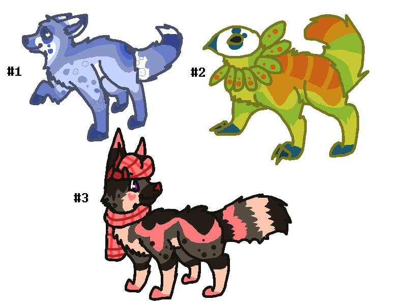 Auction Adoptables CLOSED by CCMacoroniAdoptables