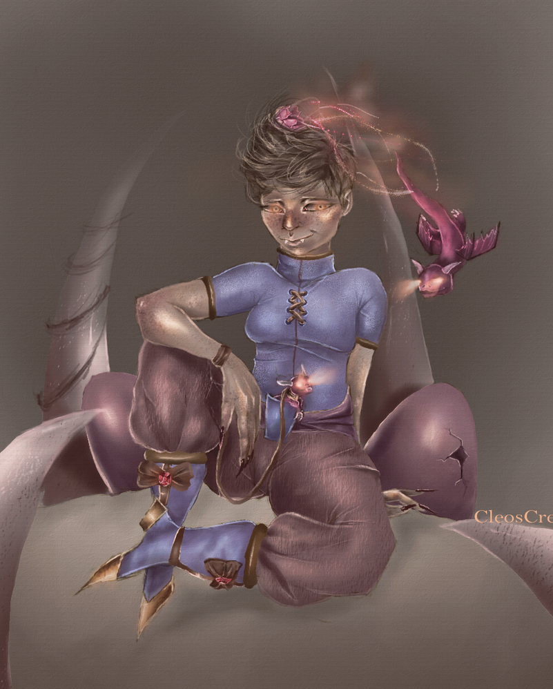 Dragon  tamer (updated) by CleosCreations