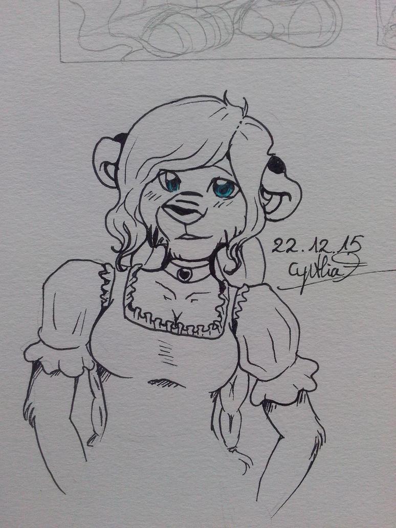 Cynthia doodle by Kruemelforever