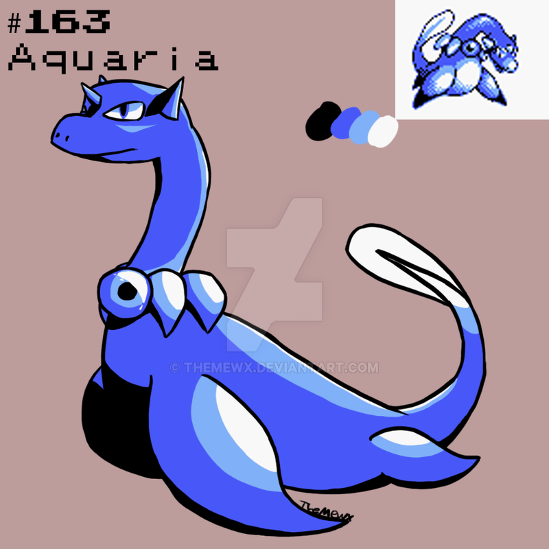 #163 Aquaria by TheMewx