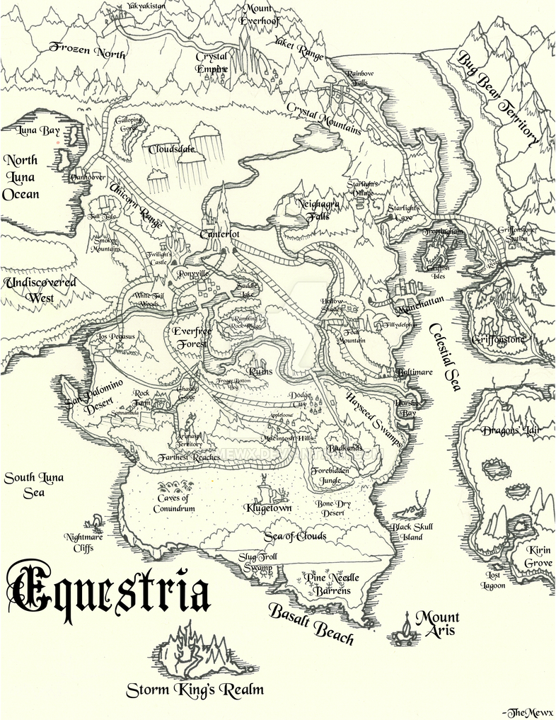 Equestria Medieval Styled by TheMewx