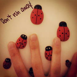 Escaping Lady Bugs