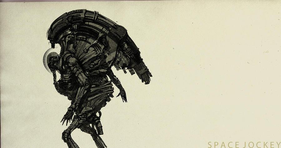Space Jockey II by Bloommer