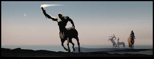 Chiron The Centaur by Bloommer