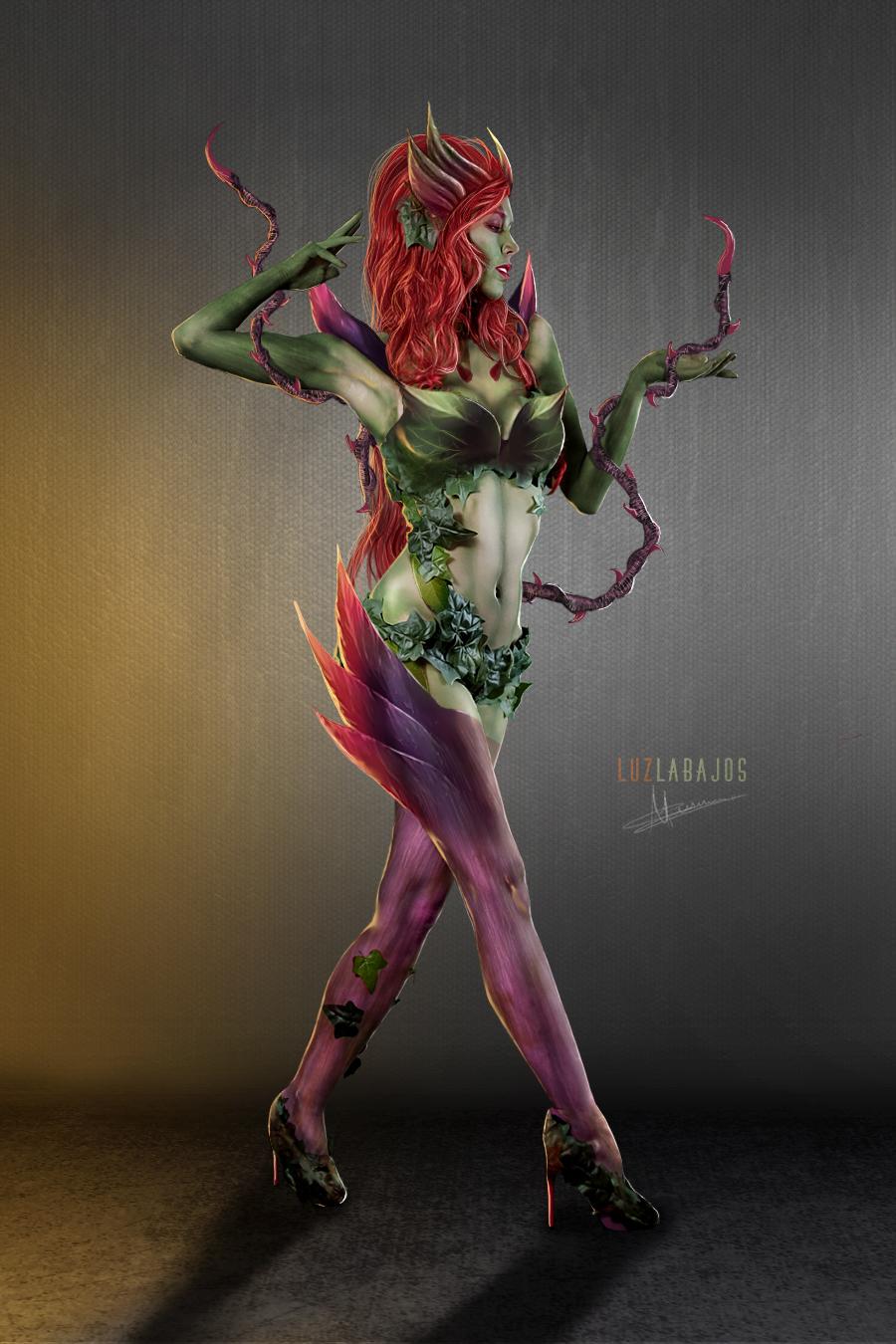 Zyra League of Legends by Neywa