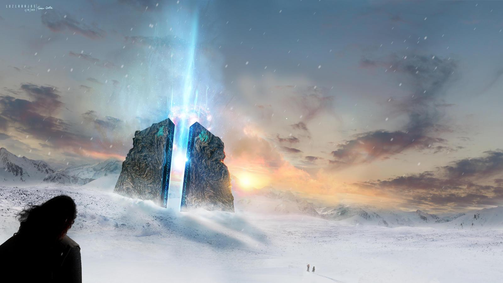 Snow Gate by Neywa