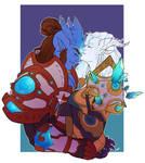 Iriaas and Orynthia