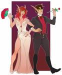 Commission: Camthaen and Calara