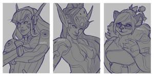 OverCraft Sketches