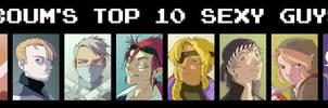 BOUM'S TOP 10 SEXY GUYS by boum