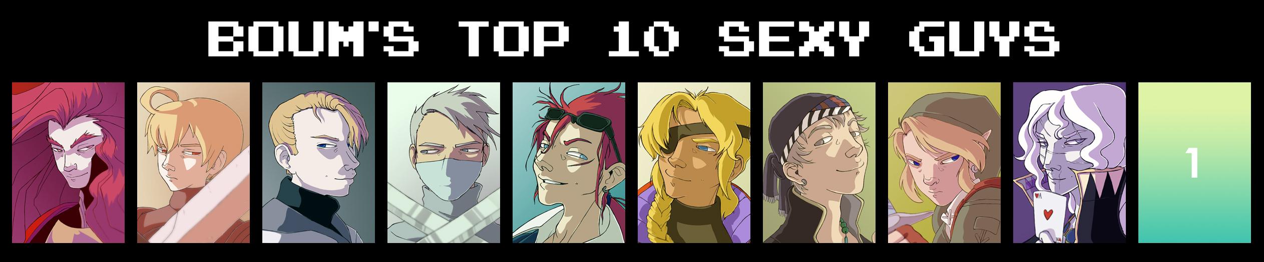 BOUM'S TOP 10 SEXY GUYS