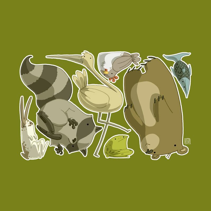 The Animals That Weren't by boum