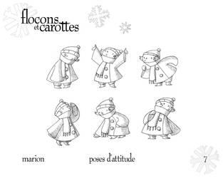 Marion - Attitude Poses by boum