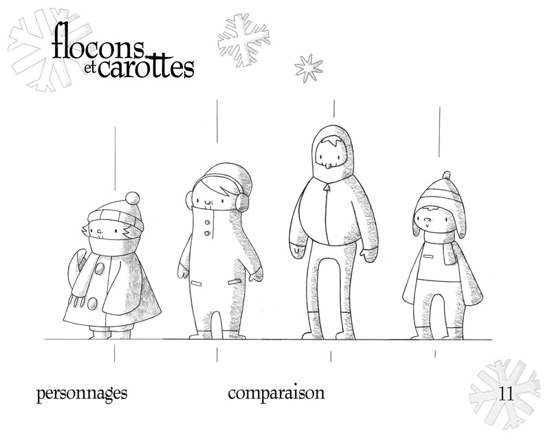 Characters - Height Comparison by boum