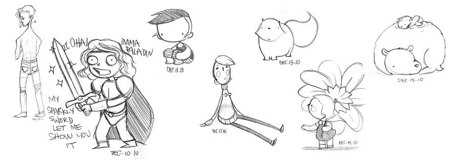 Doodle-du-Jour 5 by boum