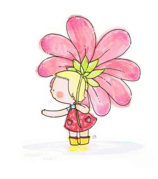 Flower Shower by boum