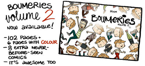 Boumeries volume 2 - NOW AVAILABLE