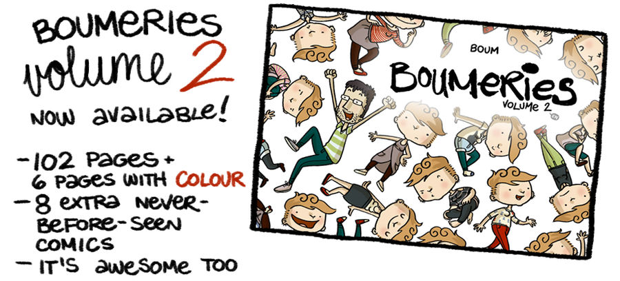 Boumeries volume 2 - NOW AVAILABLE by boum