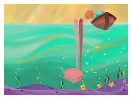 Lagoon Lagomorph by boum
